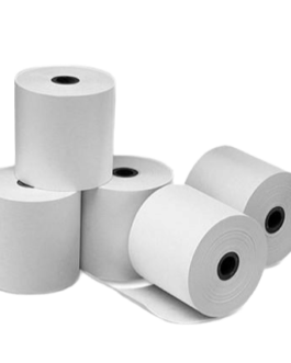 PACK 40 UND. – Papel térmico de 57 mm – Rollo de 20MT – A038